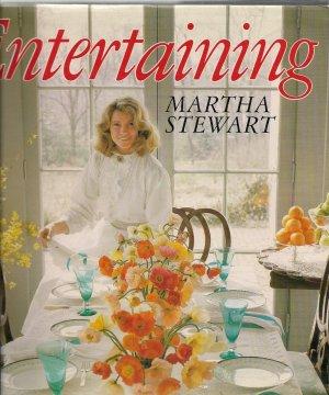 Entertaining - Martha Stewart - 1982 HC/DJ