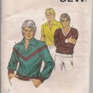 Vintage Kwik Sew 997 Mens' Knit Shirt Pattern