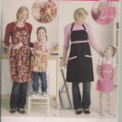 Darling Aprons - Simplicity 2555 - Mommy & Me - S-L