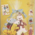 Simplicity 2945 -Stuffed Clown, Elephant, Dog, Cat and Net Bag