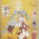Simplicity 2945 -Stuffed Clown, Elephant, Dog, Cat and Net Bag