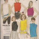 Vintage McCalls 2416 Made for You Misses Blouses Sz. 14 - UnCut