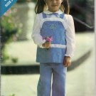 Sew & Sew 6949 Childs Tunic and Pants, Vintage sizes 1,2, 3