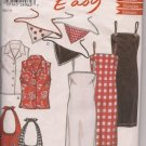 Sundress, Blouse, Bag and Scarf - New Look 6075 Sz. 6-14