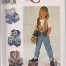 Simplicity 7147 Childs Vest,  Bag - Siz 5 6 7 8 Sunrise Designs