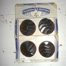 Chic Fashionable Vintage Buttons - 4 ea. Style 108