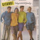 Casual Wear - McCalls 5606, Misses, Mens,Teen boys - Tops, Pants, Shorts -Small