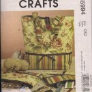 McCalls Crafts M5994  Project Tote Zip Cases  Needle Case - Great Accessories for Her