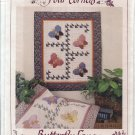 Butterfly Quited Wall Hanging Pattern - 4 Corners No. 9050