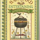 Backyard Entertaining-Great Tips for Grilling Cookbook Illustrated by Debbie Mumm