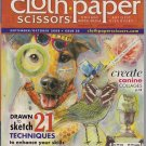 Cloth Paper Scissors September/October 2008 Issue 20