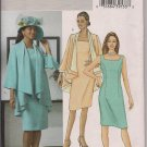 Butterick B4387 Womans Jacket & Dress - Sz. 16, 18, 20, 22