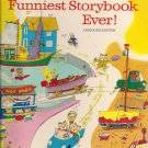 1972 Richard Scarry's Funniest Storybook Ever - Abridged Edition-Vintage Childrens book