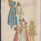 Vintage  Out of Print 1974  Simplicity 6242 Girls Dress Sz. 6