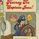 Hurray for Captain Jane Vintage Childrens Book - Sam Reavin - 1971