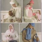 Elaine Heigle Designs - Simplicity 4316 Misses & Dog Accessories -Scart, hat, Mitten, Coat