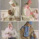 Elaine Heigle Designs - Simplicity 4316 Misses & Dog Accessories -Scart, hat, Mitten, Coat