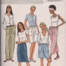 Butterick B4137 Easy Misses Pants, Capri, Skirt, Shorts - Sz. 12, 14, 16