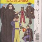 McCalls M5952 Boys Super Hero, Zorro, Speed Racer Costumes Sz. 7-14