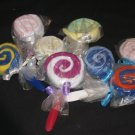 Wash Cloth Lollypops, Set of Two