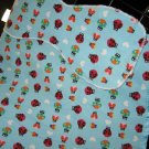 Ladybug Love Baby Blanket & Burp Cloth Set.