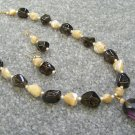 Smokey Quartz Handmade Necklace Set 159 - 1410
