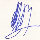 Billy Ray Cyrus Autographed Index Card