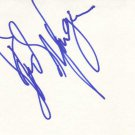 Debi Mazar Autographed Index Card