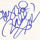 Rachel True Autographed Index Card