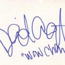 David Arquette Autographed Index Card