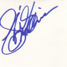 Shirley MacLaine Autographed Index Card