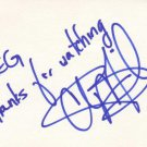 Chi McBride Autographed Index Card