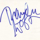 Thandie Newton Autographed Index Card