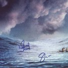 Open Water in-person autographed cast photo