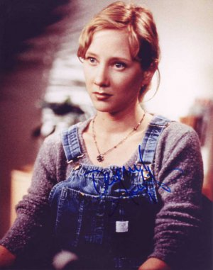 Anne Heche in-person autographed photo