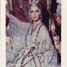 Elizabeth Taylor in-person autographed photo