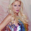 Paris Hilton in-person autographed photo