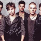 The Wanted in-person autographed photo by all 5