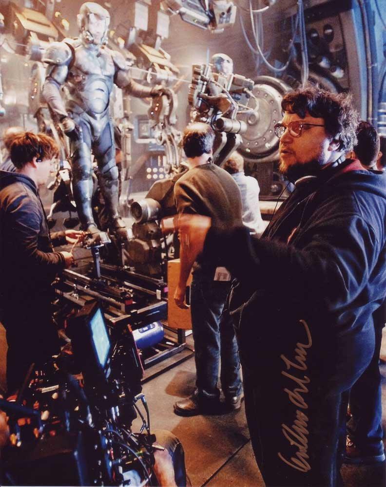 Guillermo del Toro in-person autographed photo