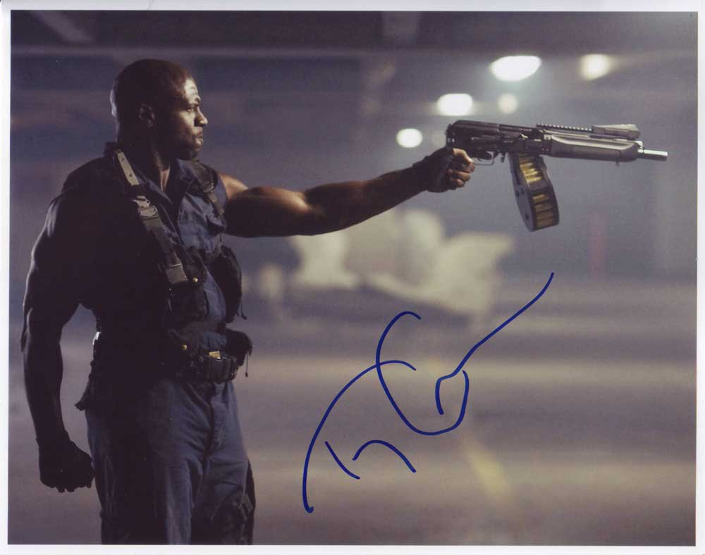 Terry Crews in-person autographed photo