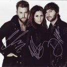 Lady Antebellum in-person autographed group photo