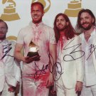 Imagine Dragons In-person Autographed Group Photo By All 4