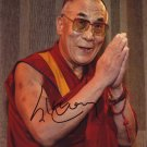 Dalai Lama in-person autographed photo