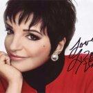Liza Minnelli in-person autographed photo
