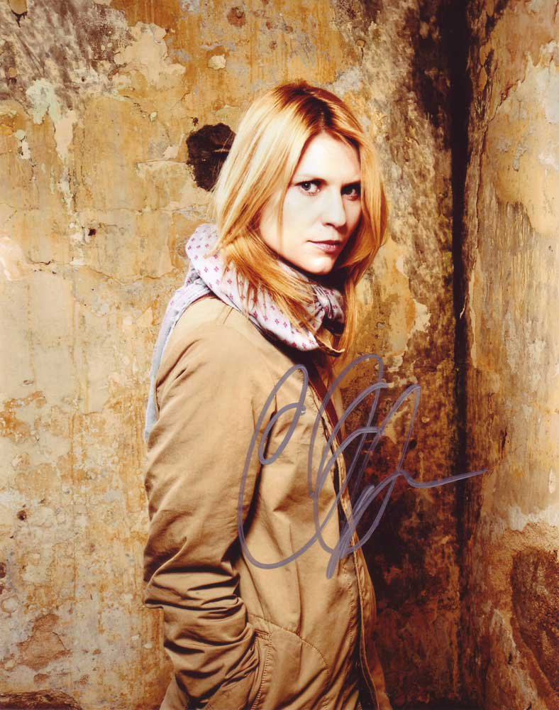 Claire Danes in-person autographed photo