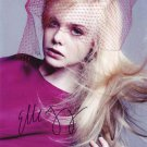 Elle Fanning in-person autographed photo