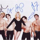 Revenge In-person autographed Cast Photo signed by 5