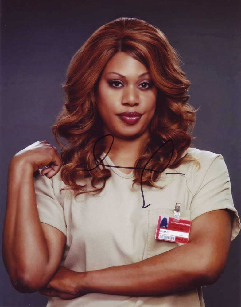 Laverne Cox in-person autographed photo