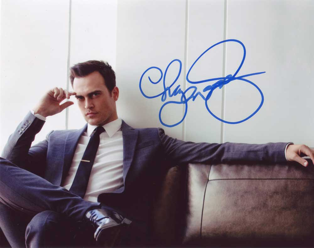 Cheyenne Jackson in-person autographed photo