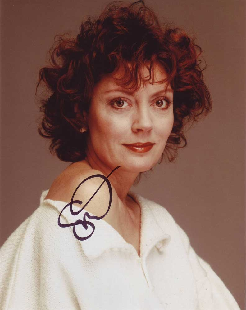 Susan Sarandon in-person autographed photo
